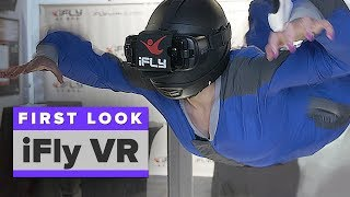 Download I tried indoor skydiving in VR Video