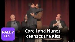Download The Office - Carell and Nunez Reenact the Kiss (Paley Center) Video