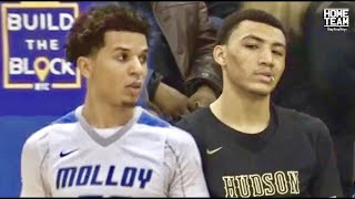 Download Jahvon Quinerly Vs. Cole Anthony! Top PG's CRAZY Match Up at SNY Invitational Video