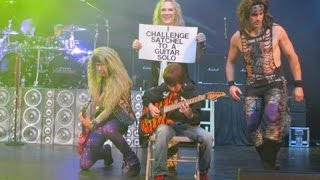 Download ***Explicit*** 11 year old Aidan Fisher with Steel Panther Video