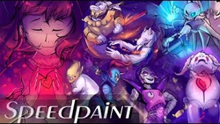 Download UNDERTALE SPEEDPAINT (Undertale Anniversary speedpaint) - Collab with Crystal Kitty K Video