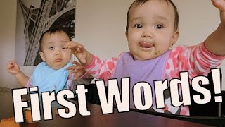 Download Twins First Words- January 11, 2015 ItsJudysLife Vlogs Video