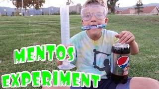 Download MENTOS & DIET COKE SCIENCE EXPERIMENT! Video