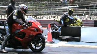 Download Nitrous Hayabusa vs BMW s1000rr drag racing 2010 Video