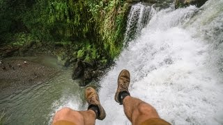 Download CLIMBING JUNGLE WATERFALL Video