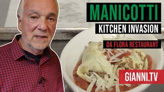 Download Manicotti Kitchen Invasion - Italian Cooking Videos - Gianni's North Beach Video
