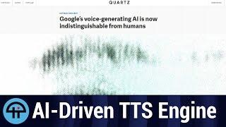 Download Google's AI-driven TTS engine Video