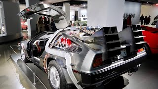 Download The REAL Back To The Future Delorean at Petersen Auto Museum Video