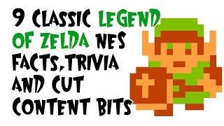 Download 9 Classic Legend of Zelda NES Facts, Trivia and Cut Content bits Video