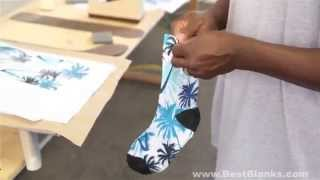 Download How to Decorate SubliSocks the Perfect Sublimation Sock! Video