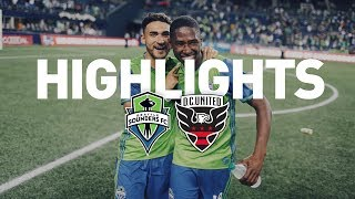 Download Highlights: Seattle Sounders FC vs D.C. United | July 19, 2017 Video