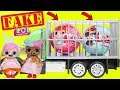 Download Fake LOL Surprise Dolls Opening + LQL Lil Sisters! Video