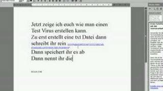 Download Test Virus erstellen Video