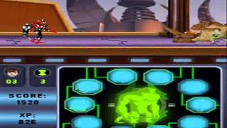 Ben 10 Alien Force Vilgax Attacks Ds Walkthrough Part 1