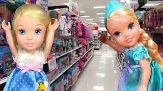 Download TOY HUNT with ELSA & CINDERELLA toddlers ! Lots of toys and dolls ! Playing Video