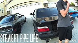 Download Straight Pipe BMW E36 Ruins Peoples Day Video