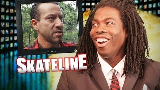 Download SKATELINE - Brian Anderson, Guy Mariano, Frankie Spears, 21 Stair Feeble Grind Video