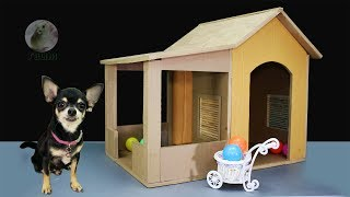 Download How to Make Amazing Puppy Dog House from Cardboard Video