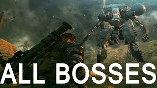 Download Metal Gear Solid 5: All Boss Fights (1080p 60fps) Video