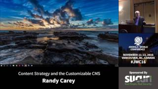 Download JWC 2016 - Content Strategy and the Customizable CMS - Randy Carey Video