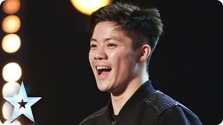 Download Body-popping Kieran Lai stuns the Judges with his moves | Britain's Got Talent 2014 Video