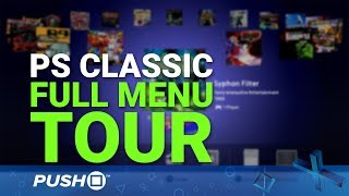 Download PS Classic: Full Menu Tour and Hardware Features Explained Video