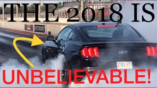 Download HOW FAST A stock 2018 MUSTANG GT RUNS THE 1/4 MILE!!! Video