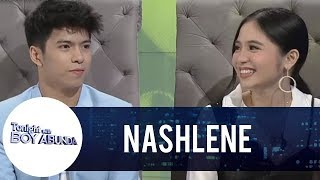 Download TWBA: Sharlene San Pedro and Nash Aguas share something about their chemistry Video