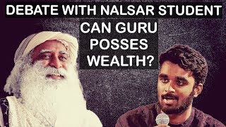 Download What's wrong with spiritual gurus being rich? - Sadhguru answers Nalsar student Video