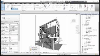 Download Revit 2017 - Casa Citröhan 35 Producción de imágenes personalizadas 3D Video