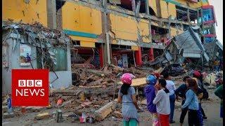 Download Indonesia earthquake: Hundreds dead in Palu quake and tsunami - BBC News Video