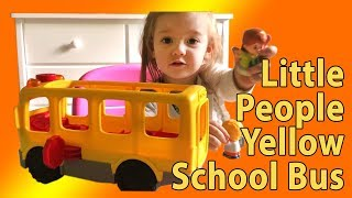 Download Little People Yellow School Bus Toy Review Video