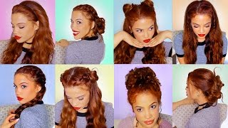 Download 8 EASY HAIRSTYLES For Running Late!! (semi-Heatless) Video