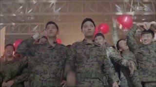 Download [태양의 후예] - 송중기-진구, 레드벨벳 등장에 부대원들과 '떼창' Video
