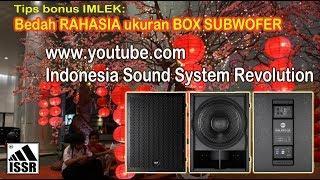 Download Membuat Aktif Subwofer 21″ merk ternama Video