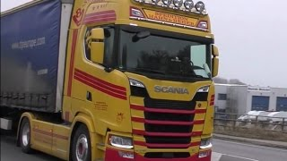 Download Travemünde Skandinavienkai Truck Spotting with V8 sound and New Generation Scania Video