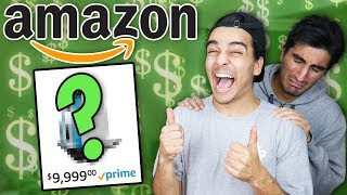 Download Buying 100% RANDOM Amazon items WITH FRIENDS MONEY! (MUST BUY EVERYTHING) Video
