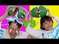 Download 라임가족 수박깨기 보드게임 대결 놀이 LimeTube & watermelon smash challenge Video