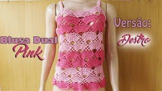 Download [Versão destro] Blusa Dual Pink (P)   BYA FERREIRA Video