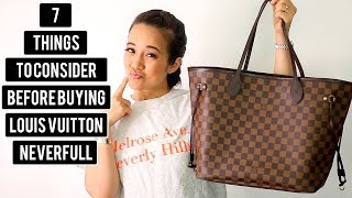 Download 7 THINGS TO CONSIDER BEFORE BUYING A LOUIS VUITTON NEVERFULL Video