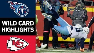 Download Titans vs. Chiefs | NFL Wild Card Game Highlights Video