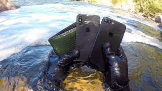 Download I Found an iPhone X, iPhone 7+ and Wallet Underwater in the River! (River Treasure) Video