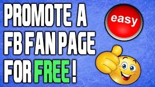 Download How To Promote Facebook Page For FREE 2018! Video