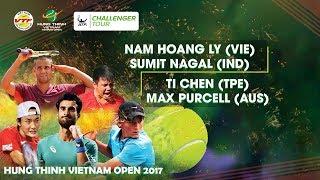Download FULL|Nam Hoang LY+NAGAL 1-2 Ti CHEN+PURCELL| VÒNG 2 GIẢI QVQT HƯNG THỊNH VIETNAM OPEN 2017 Video