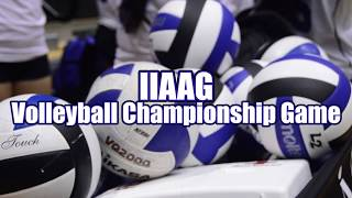 Download 2017 IIAAG Girls Volleyball Championship Game Video