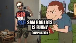 Download Sam Roberts Is Funny Compilation - ″A clunky sense of humor″ (Best of Jim and Sam) Video