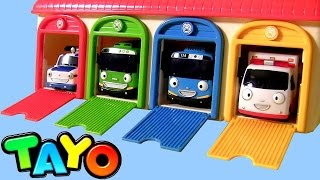 Download Tayo the Little Bus Garage Station Toys Video