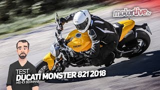 Download DUCATI MONSTER 821 2018 | TEST 2017 Video