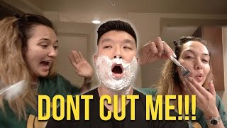 Download I SHAVED HIS FACE?! Video