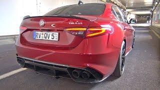 Download Alfa Romeo Giulia Quadrifoglio with Pogea Racing Exhaust! Video